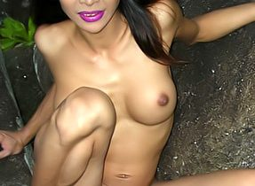 Tranny In The Forest