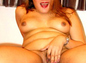 Chubby Femboy Babe Flaunts Her Curves