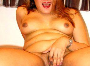 Chubby Femboy Babe Flaunts Her Curves