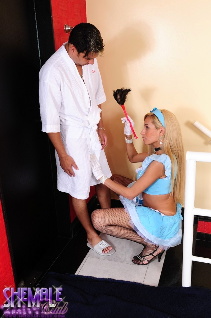 Hot Maid Gets Her Asshole Fucked From Behind