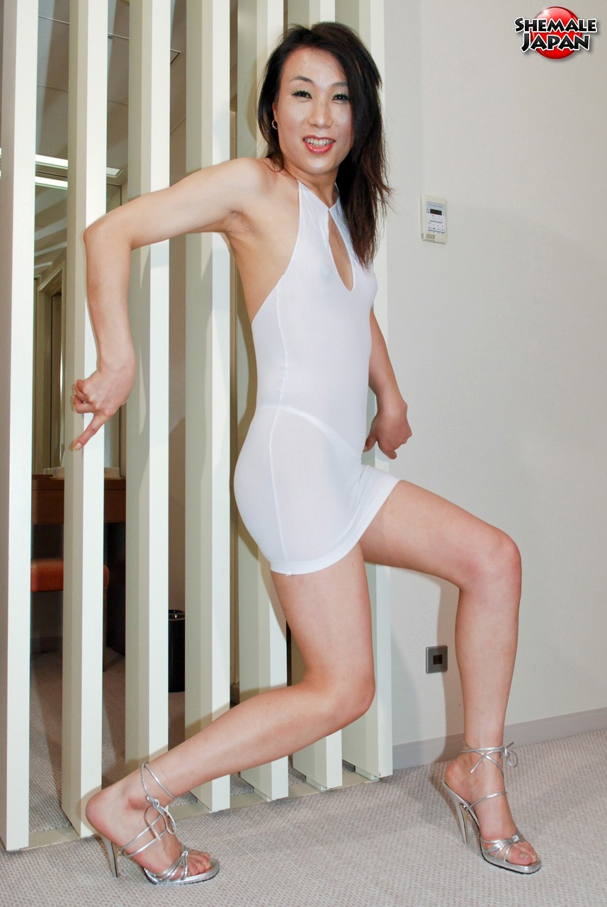 Korean T-Girl Shows Us Off Her Hot Legs And Feet