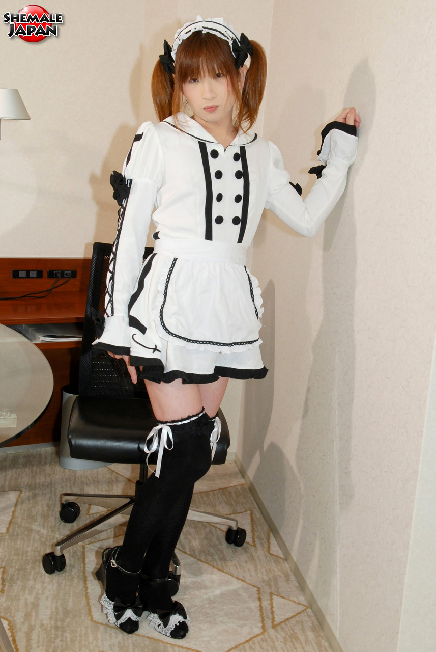 Japanese Shemale Hiromi Loves Dressing Up In Cosplay. Whethe