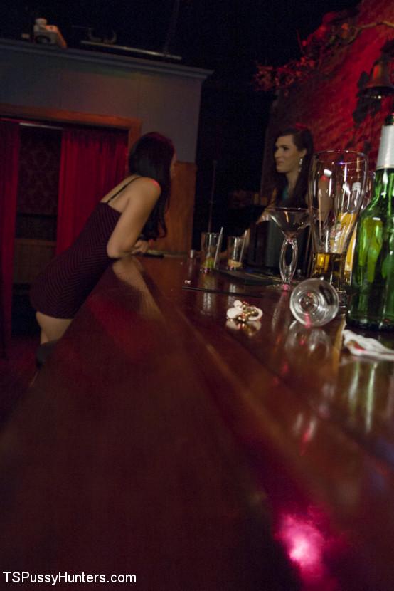 TS Stefani Special Slow Dances Her Way Into Mandys Panties