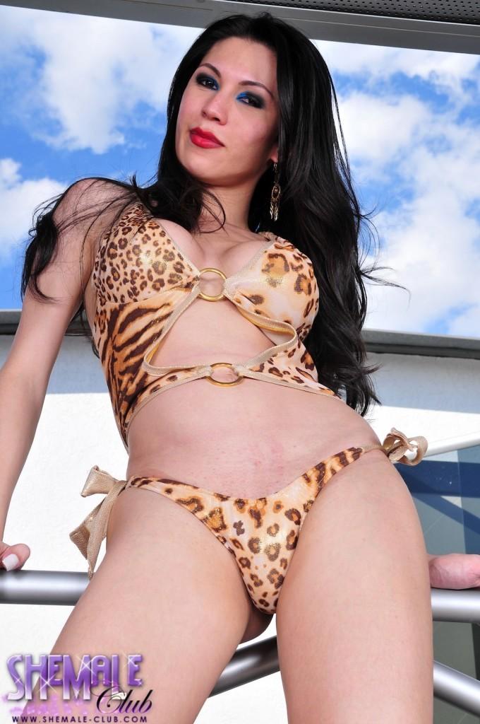 Arousing Provocative Adriana Suzuki Exposing Her Enormous Penis