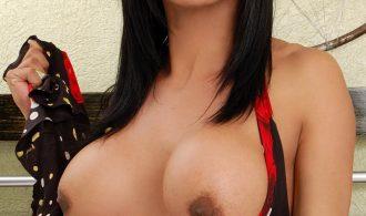 Sensual Brazilian TS Shelsea Strokes Her Stiff She Cock!