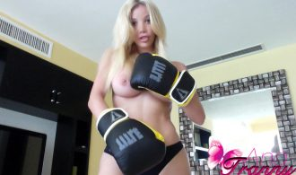 Athletic Transsexual Is Ready To Knock You Out With Her Nakedness