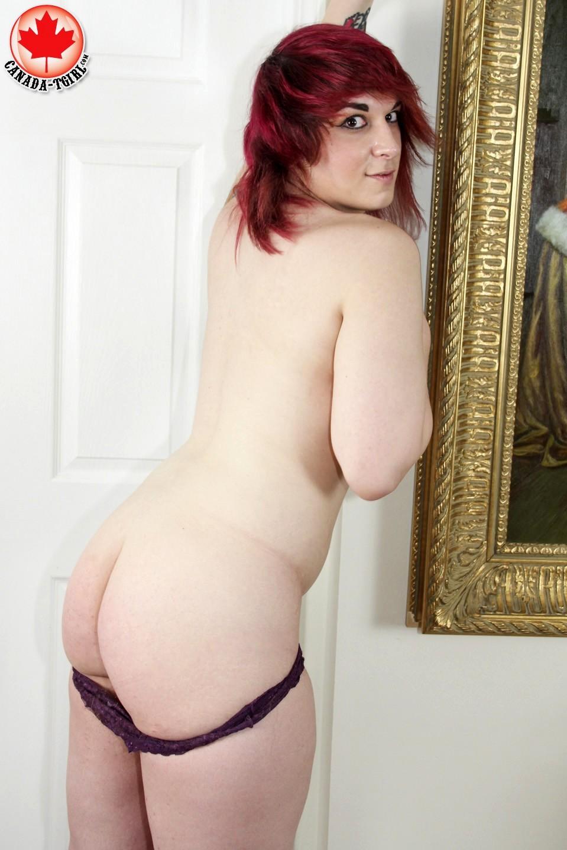 Misty Skylar In Purple Panties
