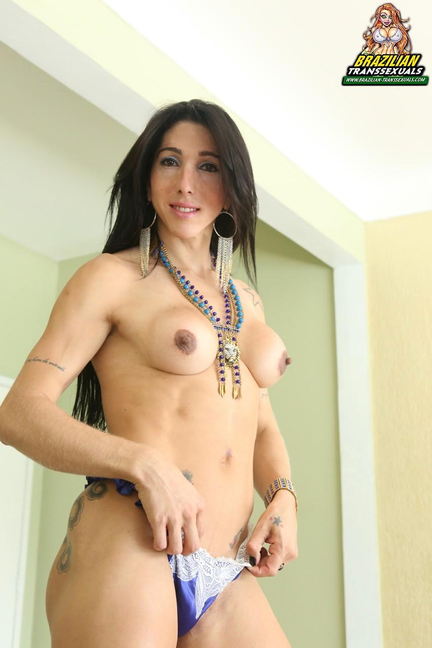 Karina Satto Has Seductive Brazilian Butt Hole