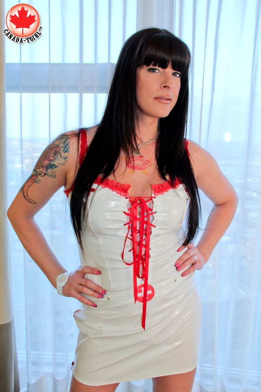Allison In Suggestive Nurse Uniform